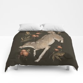 The Wolf and Rose Hips Comforters