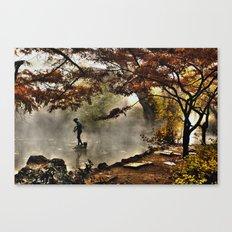 Steamy days Canvas Print