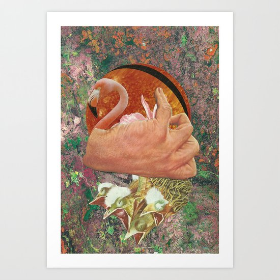 Dandelions fragile seed Art Print