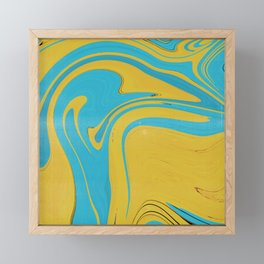 Melted Pool Framed Mini Art Print