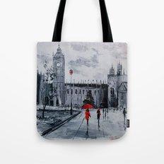Walk in London Tote Bag