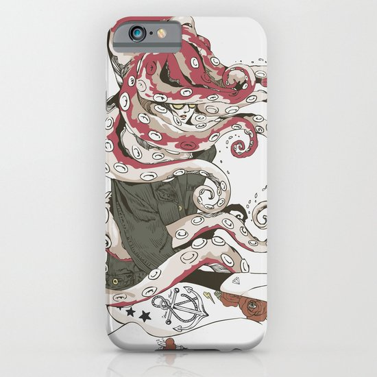 My head is an octopus iPhone & iPod Case