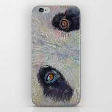Panda Portrait iPhone & iPod Skin