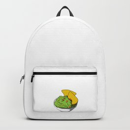 This Is My Human Costume I'm Really Guacamole Funny Halloween Backpack