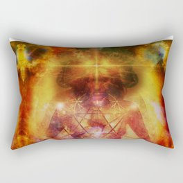 Deep Meditation Rectangular Pillow