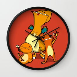 Pokémon - Number 4, 5 & 6 Wall Clock
