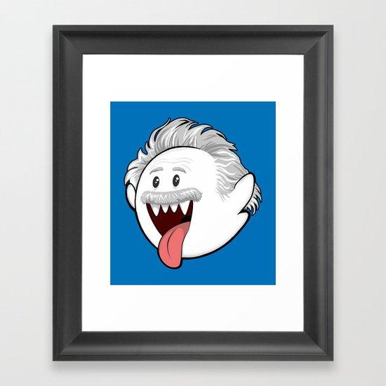 Boo Einstein Framed Art Print