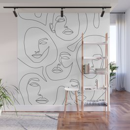 Her and Her Wall Mural