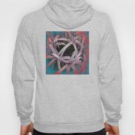 Ribbons of Life: Abstract Design Hoody