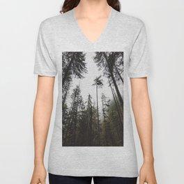Pacific Northwest Forest Unisex V-Neck