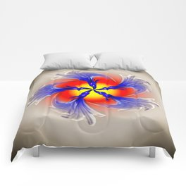 Abstract - Perfection 49 Comforters