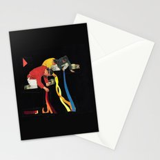 Painting Floors Stationery Cards