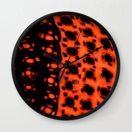 Pattern #4 - Murano Glass Murrines  Wall Clock