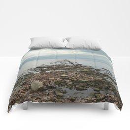 Pier Remnants Comforters