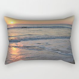 Sunrise over the Indian Ocean Rectangular Pillow