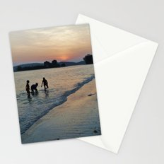 Silhouettes on the Shore Stationery Cards