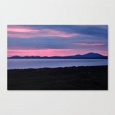 Harlech Sunset Canvas Print