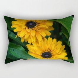 Susan's Flowers Rectangular Pillow
