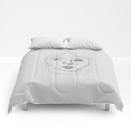 Water Girl Comforters