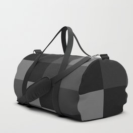 Four Shades of Black Square Duffle Bag