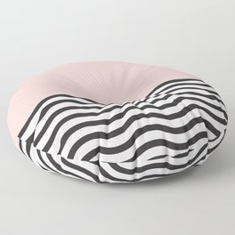 Waves of Pink Floor Pillow