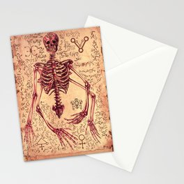 Scheleton Anatomy Stationery Cards