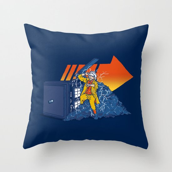 I am the Doctor Throw Pillow