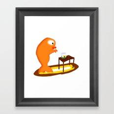 My Pet Goldfish. Framed Art Print