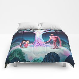 Castle in the Sky Comforters