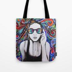 Think in Technicolor Tote Bag