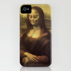 Monnalisa is dead Slim Case iPhone (4, 4s)