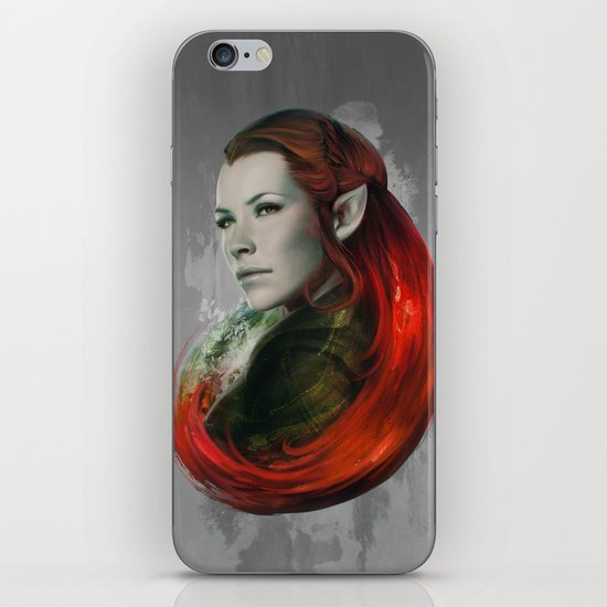 Head of Elven iPhone & iPod Skin