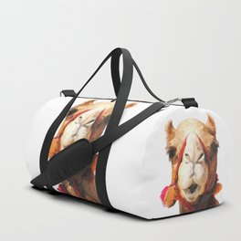 Camel Portrait Duffle Bag