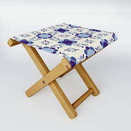 Portuense Tile Folding Stool