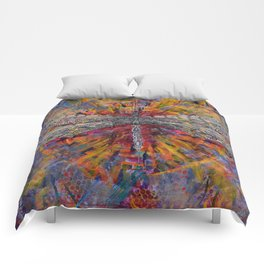 Mandala Dragon Comforters