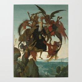 Michelangelo Buonarroti / The Torment of Saint Anthony / Poster