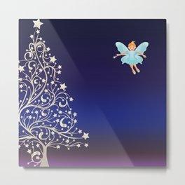 Sugarplum Fairy on Christmas Eve. Metal Print