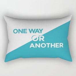 One Way or Another Rectangular Pillow
