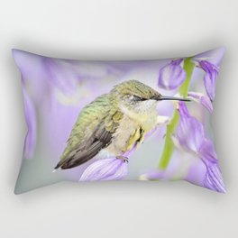 Sweet Dreams Little One-Hummingbird Rectangular Pillow