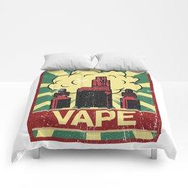 Vape Propaganda | Vaper Vaping E-Cigarette Comforters