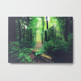 Lacanian Forest Metal Print