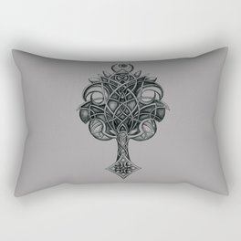 Celtic tree of life Rectangular Pillow