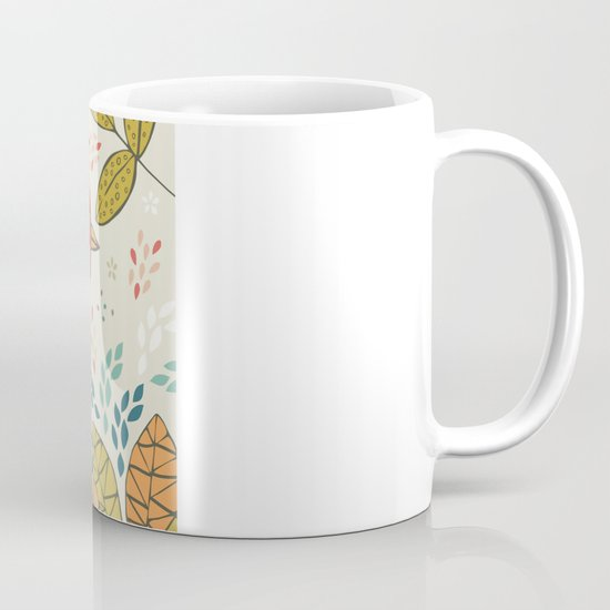 Bird and Butterfly  Mug