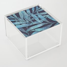 Watercolor Ferns Acrylic Box