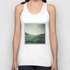 On the road again Unisex Tank Top