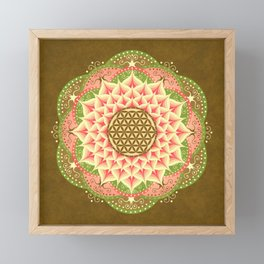 Flower of Life 6 Framed Mini Art Print
