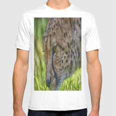 Cheetah Mens Fitted Tee MEDIUM White
