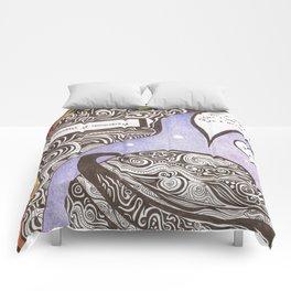 L'HUMANITE CE FLEAU  Comforters