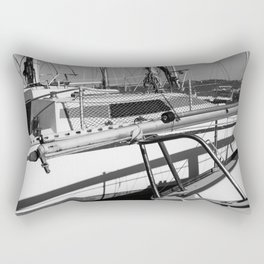On the harbor, Le Touquet Rectangular Pillow