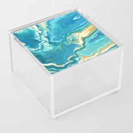 Abstract acrylic for the ocean lover Acrylic Box